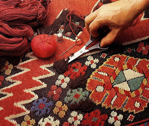 Beauvais Carpets conservation and restoration for antique carpets, rugs and tapestries
